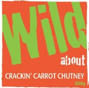 Wild about Crackin' Carrot Chutney label image