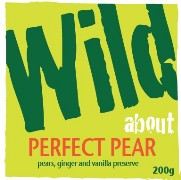 Wild about Perfect Pear label image