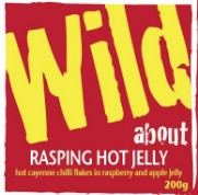 Wild about Rasping Hot Jelly label image