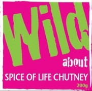 Wild about Spice of Life Chutney label image