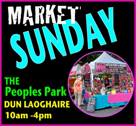 WILD about People's Park, Dun Laoghaire, Sunday Farmer's Market Stall